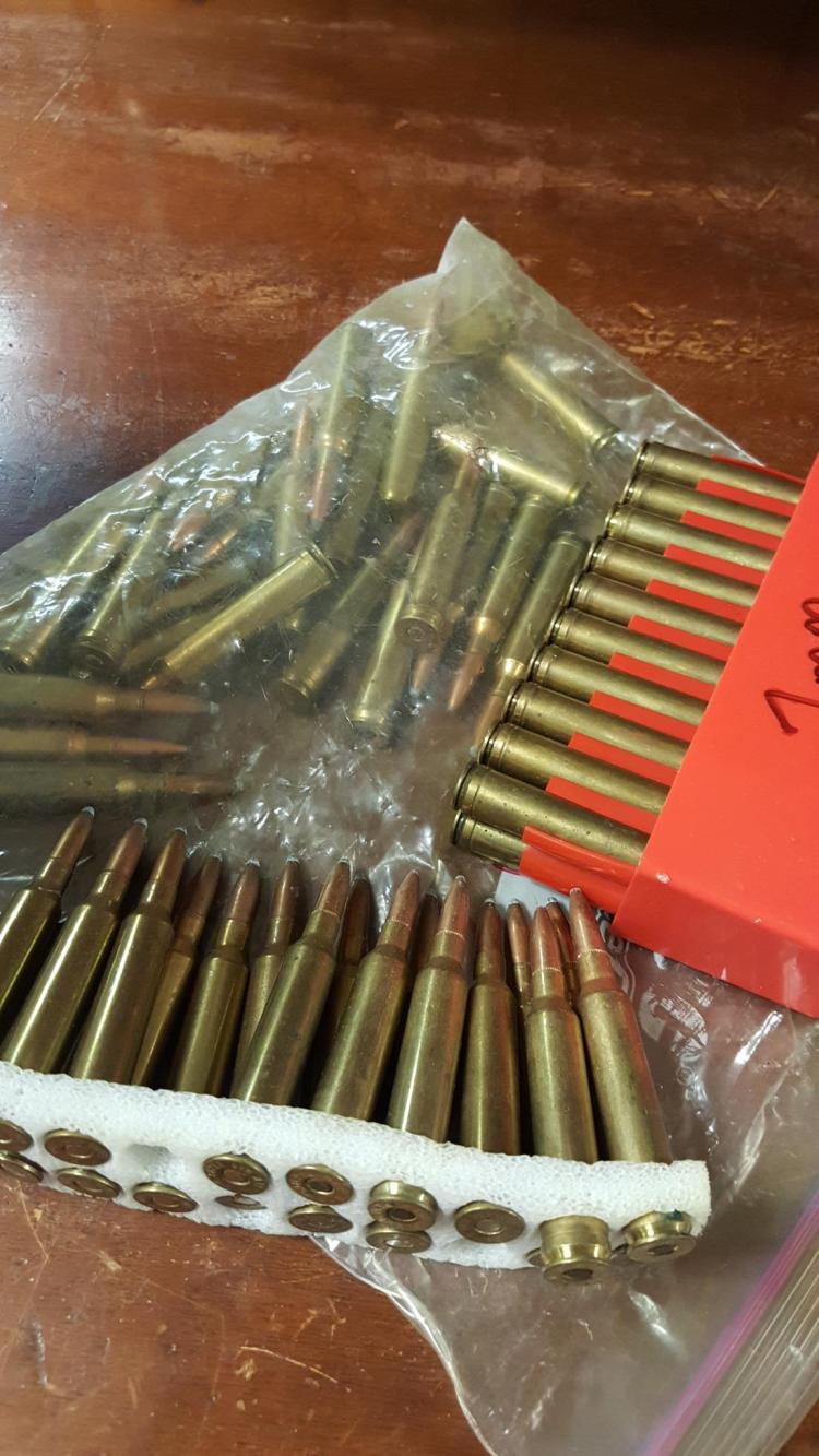 Approx. 60 rounds 7mm Remington loose ammo