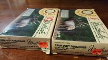 2 boxes 7mm Weatherby Mag ammo