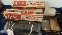Lots of Atlas HO straight & curved  snap-track