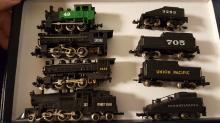 Lot of 4 N scale Locomotives & tenders