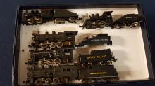 Lot of 5 N scale Locomotives & tenders