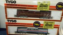 Tyco HO GG-1 Electric Amtrak & Penn switchers