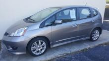 2010 Honda Fit Sport silver 4 door car 31k miles