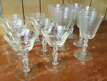 11 Webb type crystal seemed glasses
