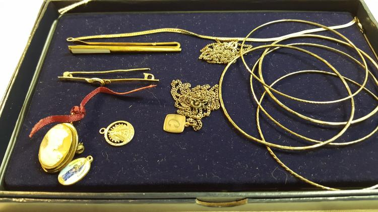 13 pcs, vintage 800, 835 & 925 silver jewelry