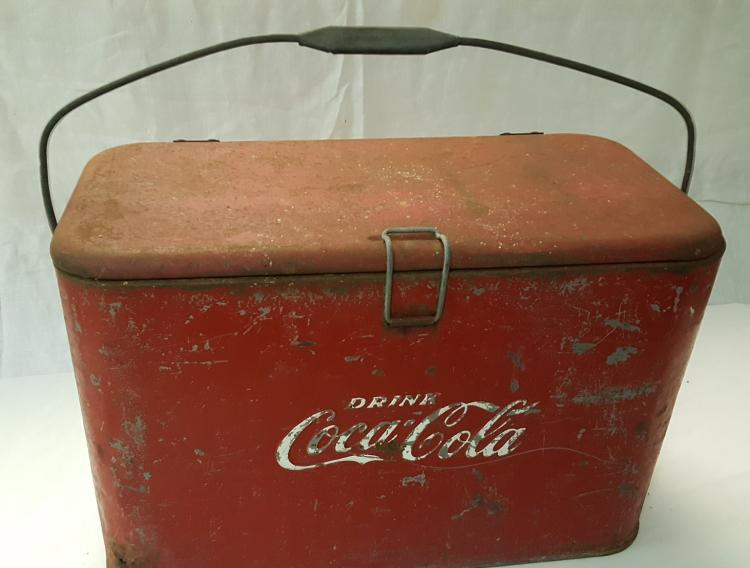 Drink Coca-Cola metal Picnic cooler by Progress