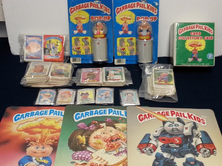 Garbage Pail Kids pop-ups, cards, collectibles