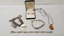 Vintage lot of Sterling jewelry items