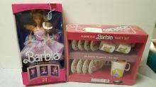 Barbie Lavender Looks & Party Tea set