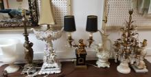 Assorted Talbert lamps