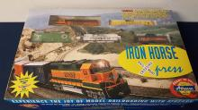Athearn Iron Horse Express HO train set NIB