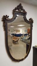 Modern Shield shape wall mirror