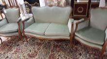 3 piece settee and chair set