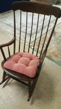 Hitchcock signed rocking chair