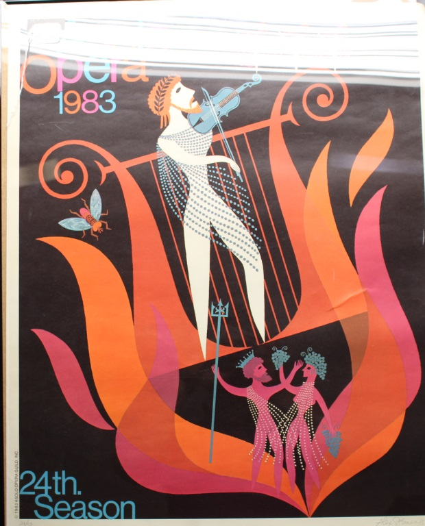 Alex Steinweiss Asolo Opera Poster