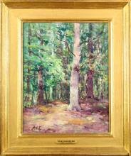 Henry Hammond Ahl (1869-1953) American, Oil / C