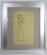 Jules Grandjouan (1872 - 1968) Pastel
