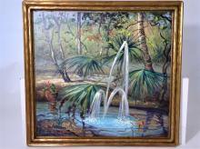 William Stacks (1928-1991) Oil on Canvas