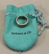 Sterling Tiffany & Co Men's Atlas Ring