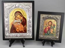 (2) 20th C. Russian Icons