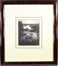 Charles William Taylor (1875-1960) English Etching