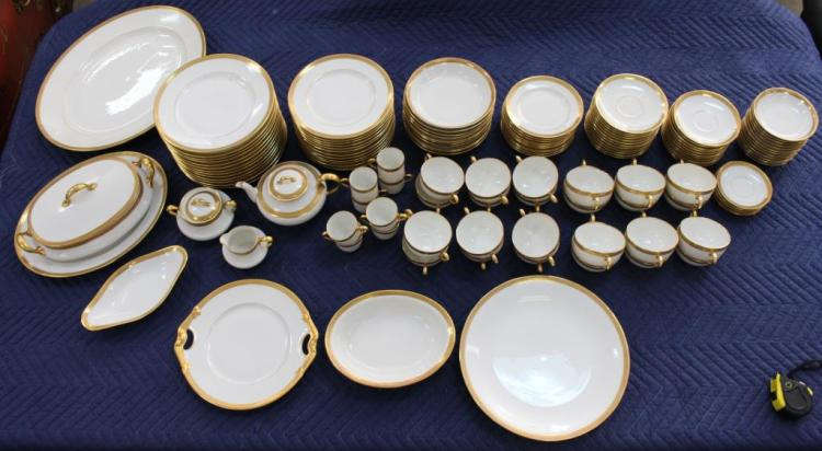 120 PC. FRENCH LIMOGES PORCELAIN SET