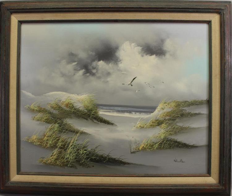 LIGHTHOUSE BEACH SCENE (FT MYERS) SIGNED