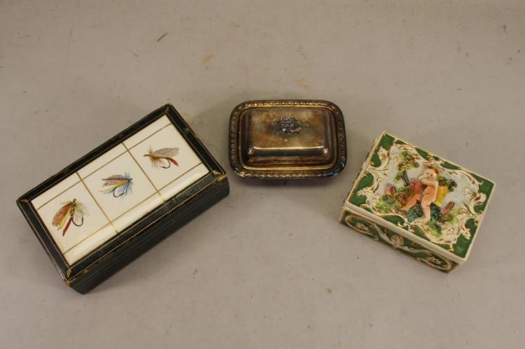 (3) ASSORTED COVER BOXES