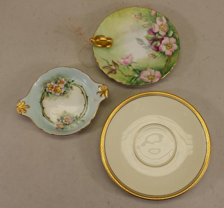 (3) ASSORTED PORCELAIN DISHES