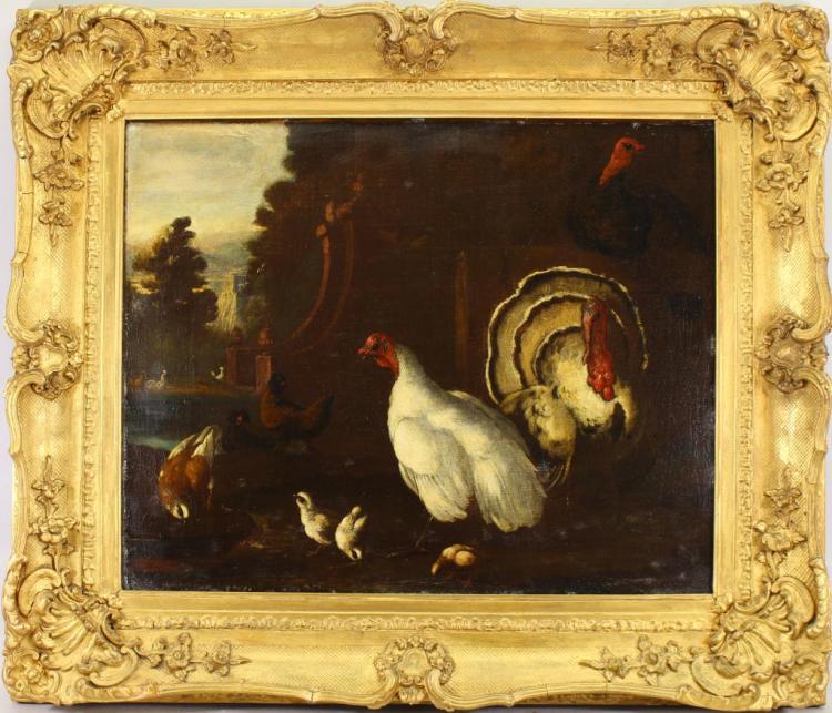 CIRCLE OF PETER CASTEELS III (1684 - 1749)