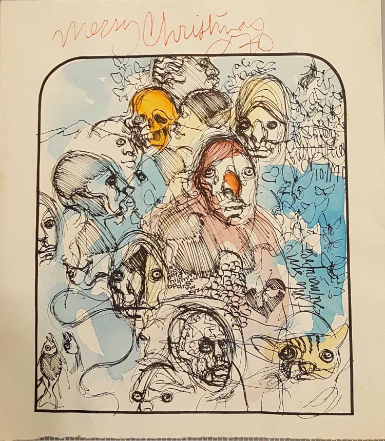 MERRY CHRISTMAS 1970 (COMO SIN SU MARIPOSA)