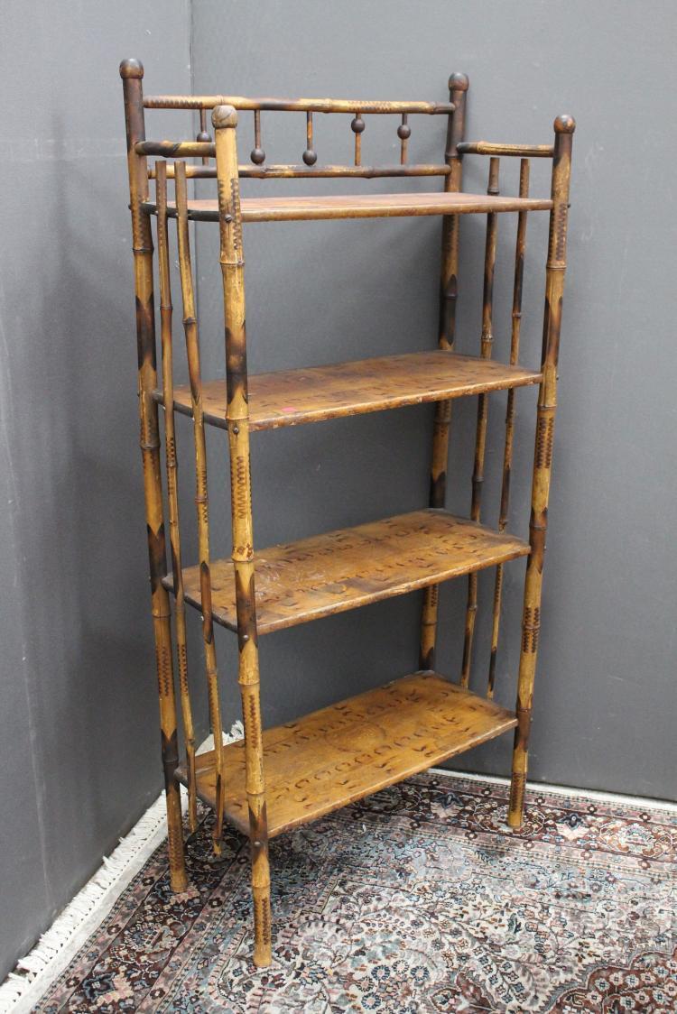 Vintage 4-Tiered Shelf