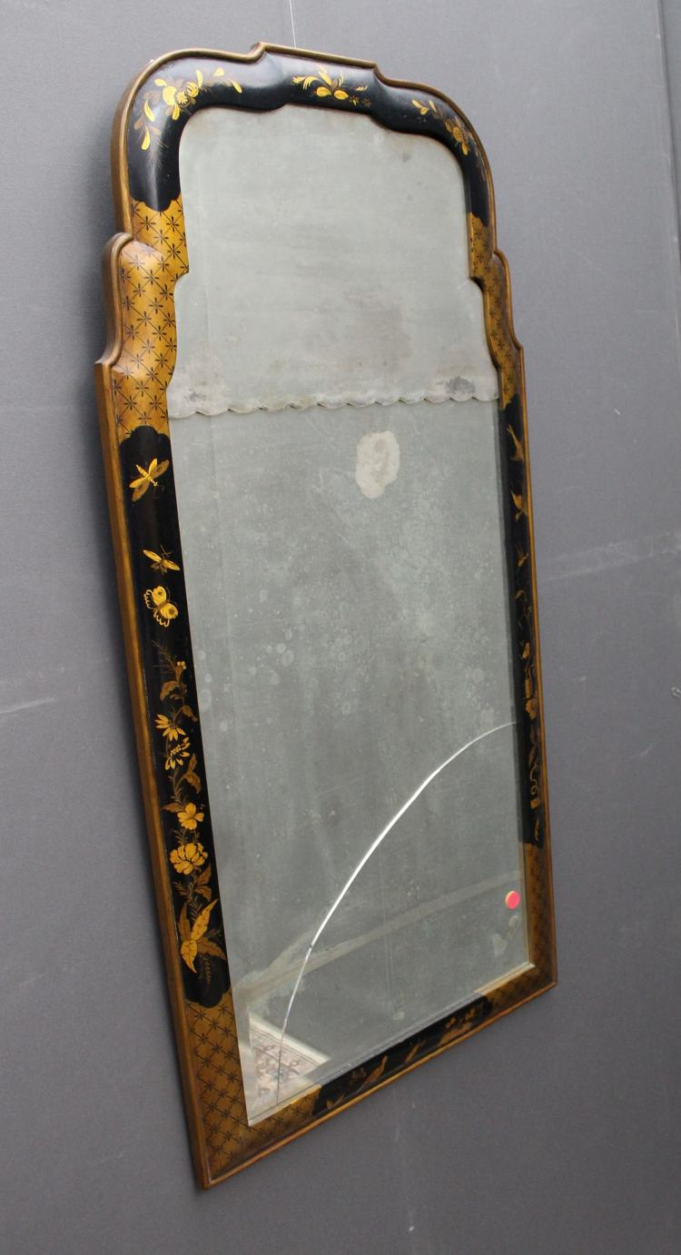 Vintage Chinoiserie Style Mirror (as is)