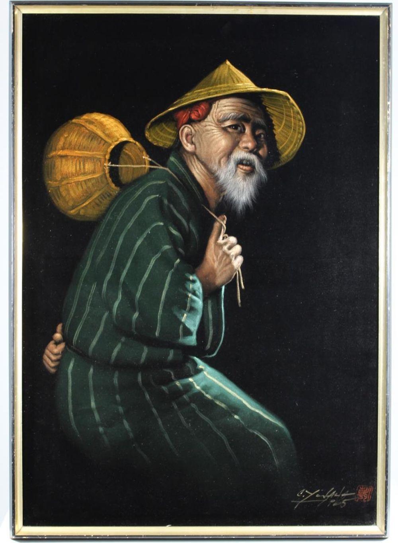 CHOTAI YONAHA (1933-2008, Japan) UNTITLED NUDE - Gouache on