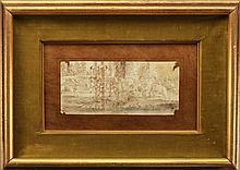 Attr. Leonardo Da Vinci (1452 - 1519) Drawing