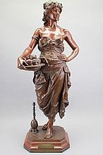 Émile Pinedo (1840 - 1916) Female Bronze