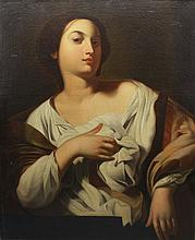 Circle of Francesco Guarino  (1611 - 1651) Saint Agatha