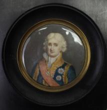 Antique Portrait of General Cambaceres