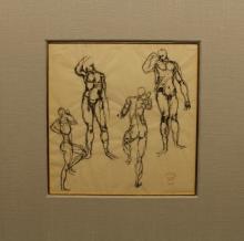 (3) George Koren (Pennsylvania 20th C.) Studies