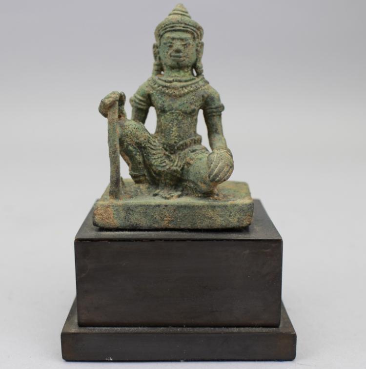 Antique Bronze Bodhisattva