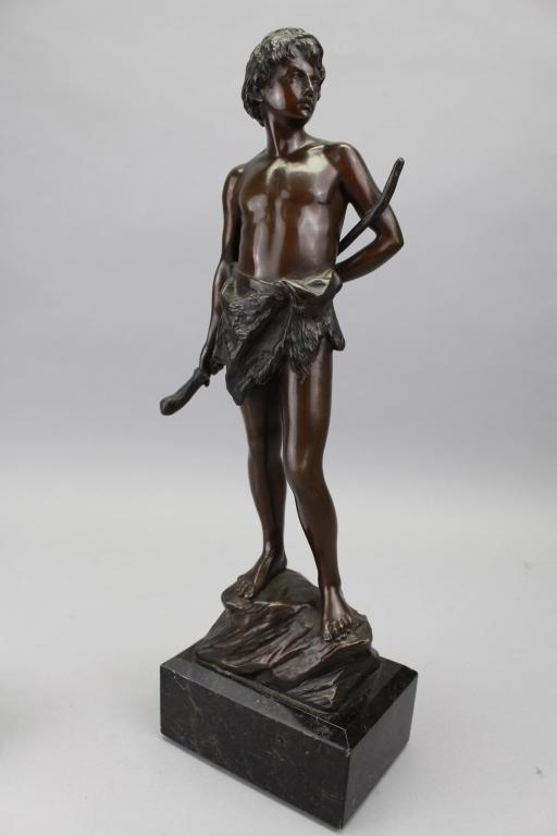 Jeremias Christensen (1859 - 1908) Bronze