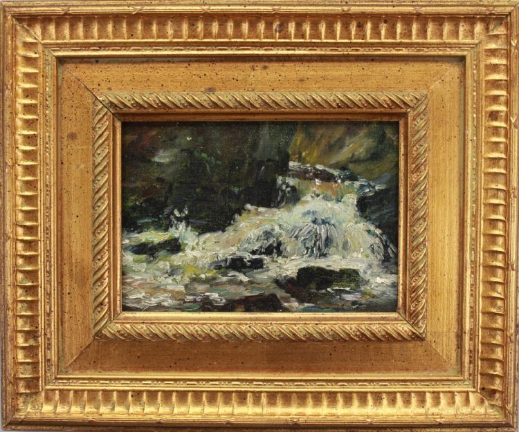 American School, Impressionist Coastal Scene