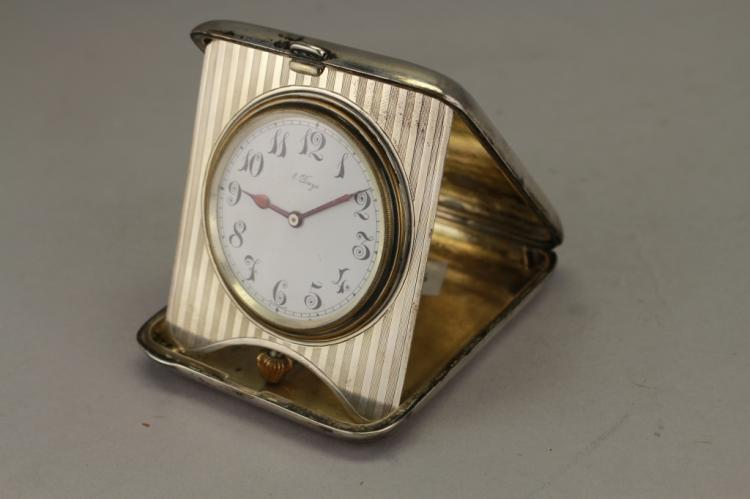 Sterling Silver 8 Day Clock