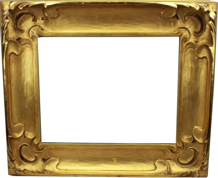Antique Carved Gilt Continental Frame