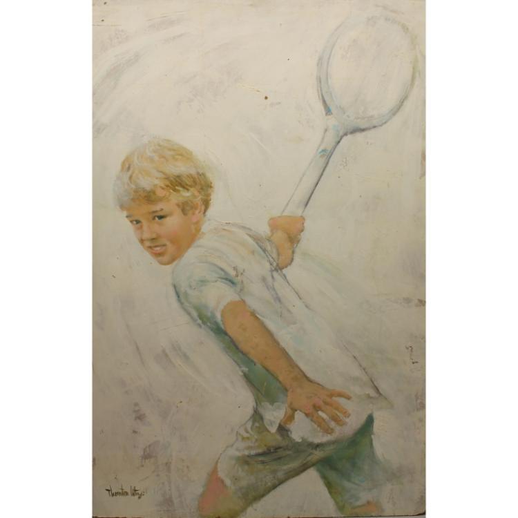 Thornton Utz (1914 - 1999) Illustration