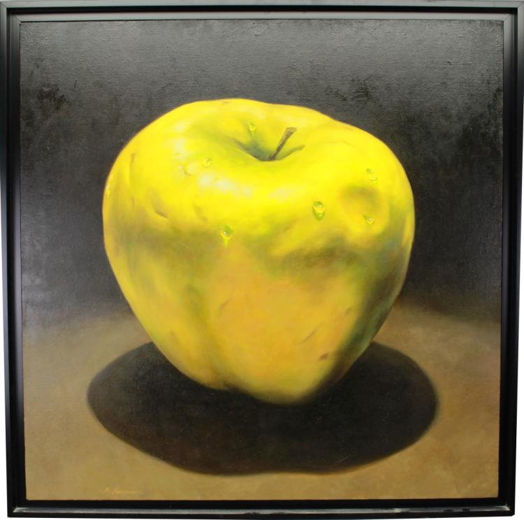 Richard Courrier (20th C.) Apple