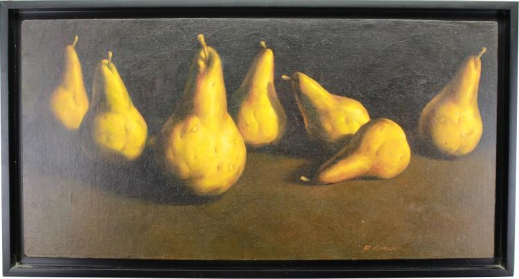 Richard Courrier (20th C.) Pears