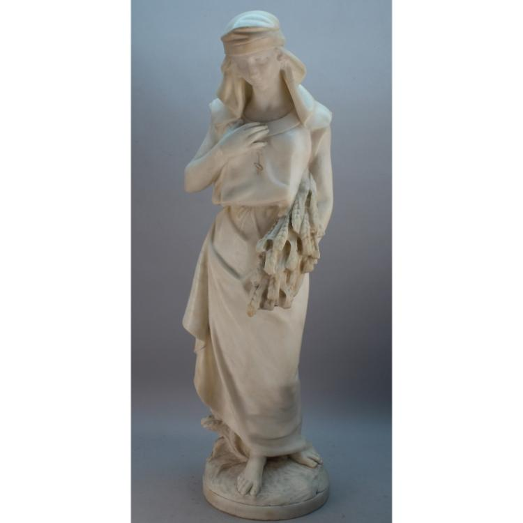 Large 19th C. Marble Sculpture