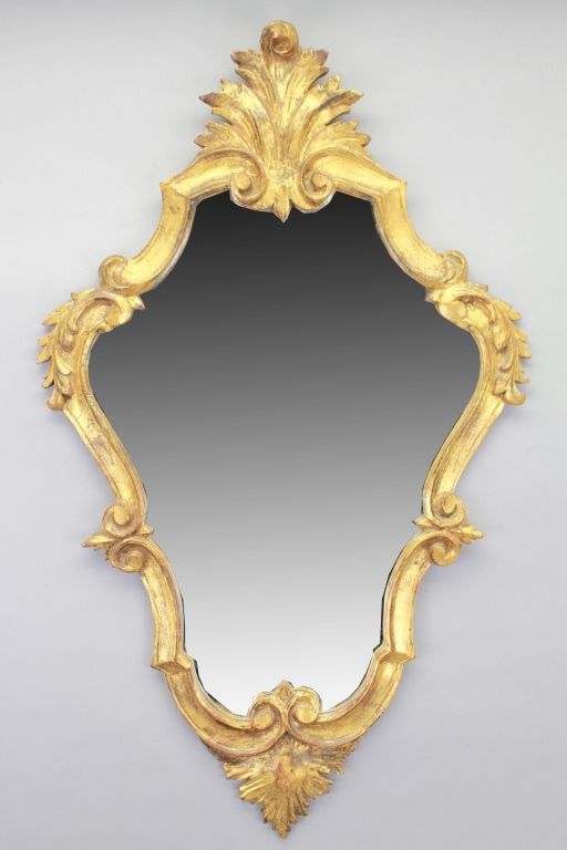20th C. Italian Gilt Mirror