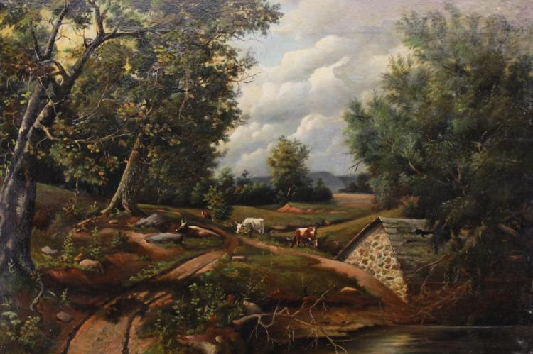 19th C. Bucolic Landscape